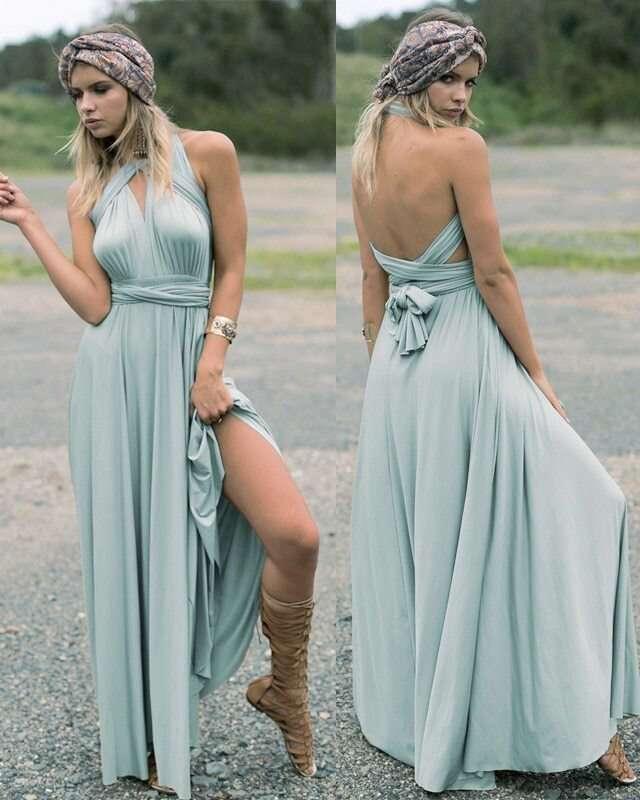 Vestido Longo Multiuso Multiformas Madrinha Casamento