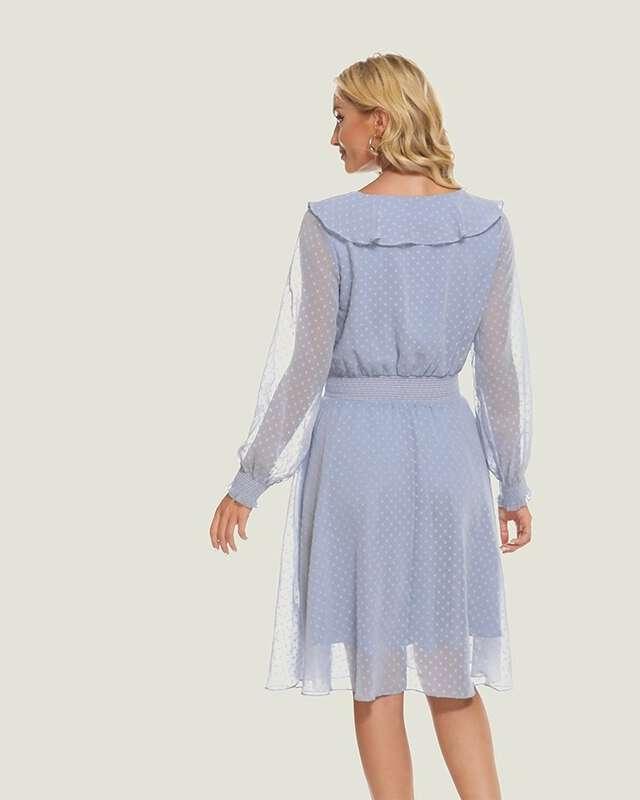 Vestido Midi Azul Serenity