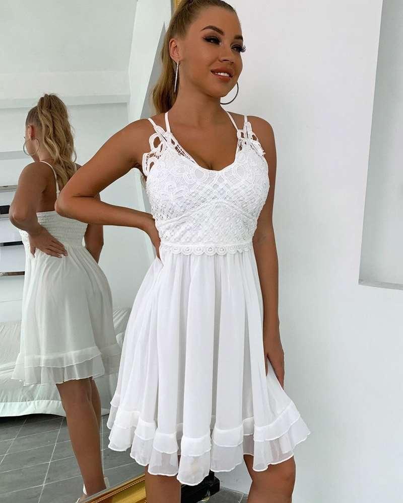 Vestido Branco Curto para Festa